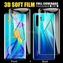 Front + Back Film For Huawei P20 Lite Honor 20 9X P30 Pro