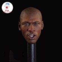"""2สไตล์1/6ชายหัวSculptบาสเกตบอลJordanหัวแกะสลักสำหรับ12 """"DIY Action Figure Collection"""