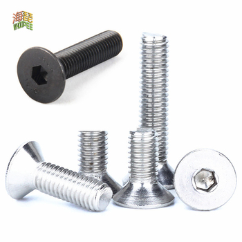 50pcs m2 m2 5 m3 m4 iso7380 stainless steel 304 round head screws mushroom hexagon hex socket button head screw bolt 5-50pcs M2 M2.5 M3 M4 M5 M6 M8 304 A2 Stainless Steel Black grade 10.9 Hexagon Hex Socket Head Flat Countersunk Allen Bolt Screw