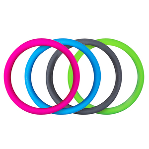 Image 3 - Car Styling Universal Car Silicone Steering Wheel Glove Cover Texture Soft Multi Color Soft Silicon Steering Wheel Accessories