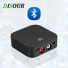 Receptor de Audio RCA Bluetooth 5,0, adaptador inalámbrico de música inteligente con conexión NFC, conector AUX de 3,5mm para el coche y 3,5, estéreo HIFI