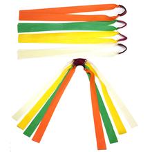 Proca mocna elastyczna płaska gumowa opaska praktyczne sporty łowieckie zestaw katapultów zestaw guma proca losowy kolor 30cm tanie tanio GUOMUZI 1pc Rubber Band Strzelanie Łuk
