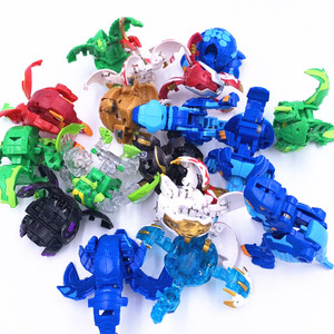 Image 4 - Hot Deformation Animal Action Toy Figures Diameter 3.5cm Capsule Random Send No Repeat Free Cards for Gift Dragon Dinosaur Toys