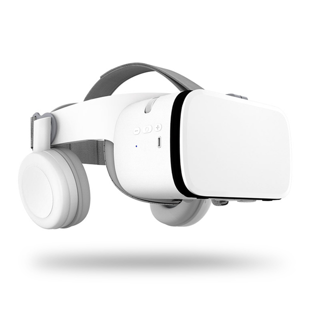 Z6 3D VR Glasses With Bluetooth Earphone For Smartphone 4.7-6.2