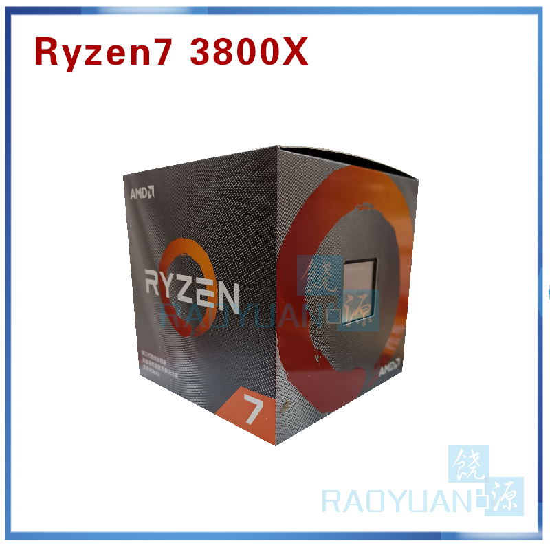 AMD Ryzen 7 3800X R7 3800X 3.9 GHz 7NM L3=32M 100-000000025  8-Core 16-Thread  CPU Processor Socket AM4 With Cooler Cooling Fan