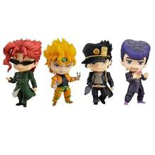 10cm anime JoJo's Bizarre Adventure figure 985# Kujo Jotaro 1110# Dio 1033# Kakyoin Noriaki Action Figures Movable Joints Model