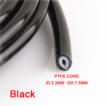 AN3 Motorcycle braided Stainless Steel nylon BRAKE LINE HOSE FLUID HYDRAULIC Precise hose Gas Oil Fuel Line Hose