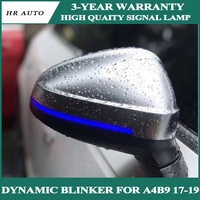 Dynamic Blinker LED Turn Signal blink Side Mirror Lights indicator flasher For Audi A4 A5 B9 RS5 2017 2018 2019