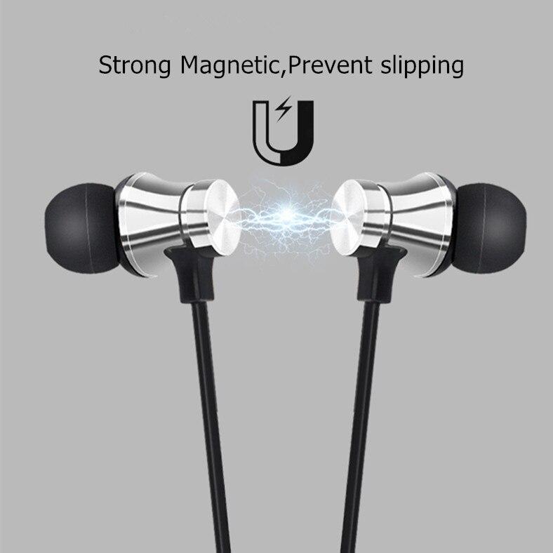 Купить спортивный магнитный xt 11 bluetooth наушники v42 стерео спортивные