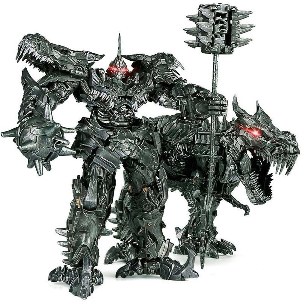 Transformers LS05 Battle Damage Enlarged Alloy Edition Dinosaur Hand-made Model