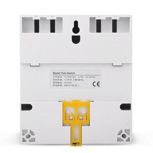 Image 5 - TM613 380V 16A trzy fazy 7 dni programowalny 16A przekaźnik cyfrowy włącznik czasowy silnik automatyczny inteligentny kontroler