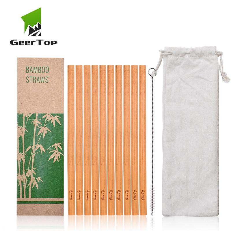 ToVe Reusable Bamboo Straws