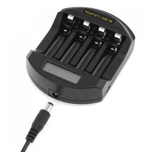 Image 2 - Soshine ЖК дисплей LifePO4 Ni MH 4 слота интеллектуальное зарядное устройство для батарей 14500 /14400 / AA / AAA