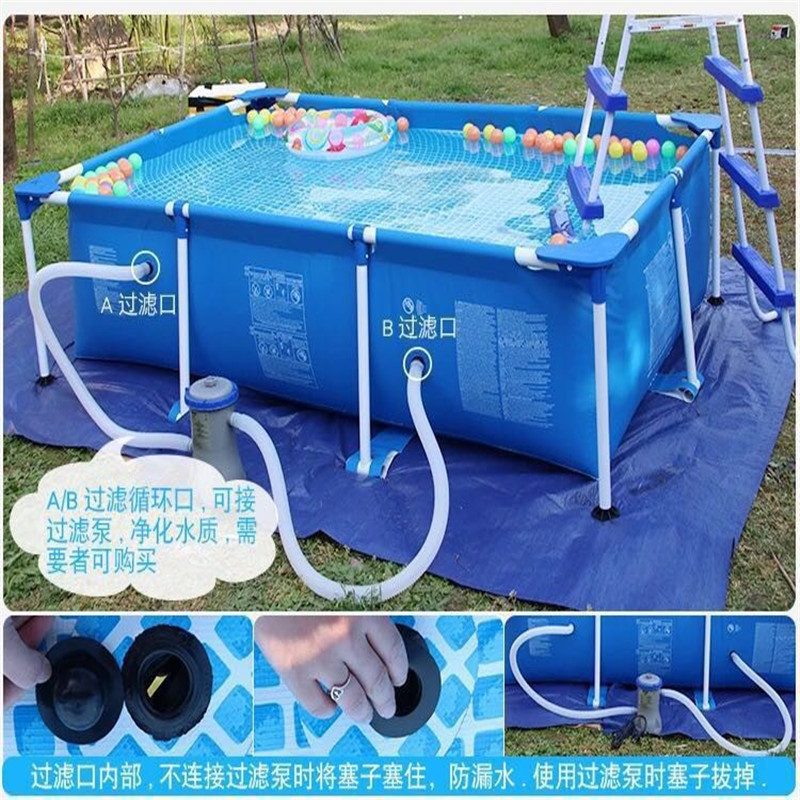 Children's Inflatable Swimming Pool Pvc Inflatable Pool Large Adult Baby Swimming Pool Custom