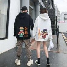Men's Hoodie Sweatshirts Wear Hinata Couple Manga Harajuku Printed Japanese Anime Male