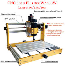 Router Laser-Machine Cnc 3018 300W/500W Mini And Engraver-Kit Offline-System Power-Wood