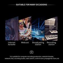 Bm 86 usb конденсаторная трансляция/микрофон для подкастов w/фильтр/рычаг