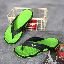 2020 New Non-slip Flip flops mens shoes platform sandals slides men slippers seaside Flip flops bathroom slippers Men slippers