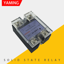 40A Single-phase SSR Solid State Relay With Protective Cover JGX-1 032 4840 Z 40A meigeer 100a ssr 100da three phase solid state relay jgx 032 mgr 3 032 38100z