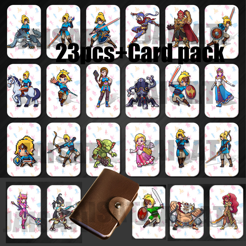 Latest Data NEW  Ntag215 Printed NFC Card Written By Tagmo Work For NS Switch Game
