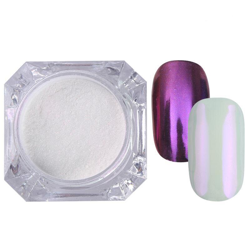 Rose Gold Bubble Mirror Powder Metallic Nail Glitter Holographics Chrome Dust Sparkling Flakes Pigment Manicur Nail Art Decor 58