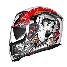 Motorcycle Full Face Helmets DOUBLE VISOR Racing Scooter Motorbike Helm