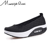 New Autumn Sneakers new Womens thick-soled shoes shake fashion casual Shake thick bottom sponge cake single cushion
