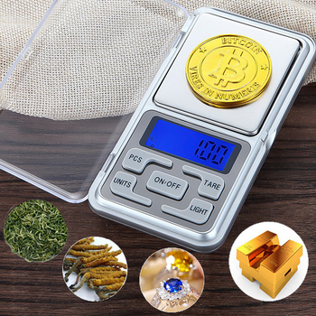 2020 100g/200g/300g/500gX0.01g/0.1g Jewelry Pocket Scale High Precision Gold Diamond Jewelry Scale Weighing Electronic Scale image