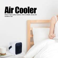 Air Cooler Mini Portable Humidifier Conditioner Fan Desktop Refrigeration Humidifying Spray Conditioning Household Appliances