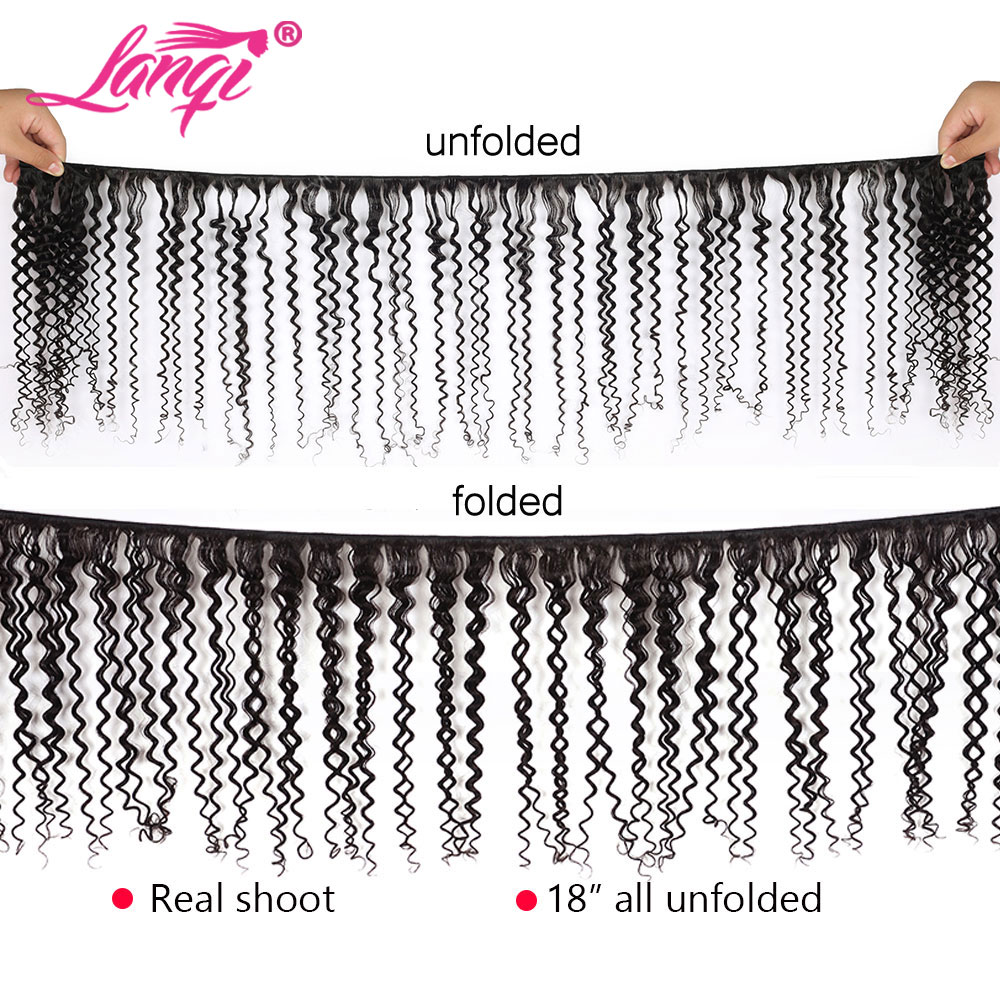 afro kinky curly hair bundles with closure Brazilian hair weave bundles with closure human hair bundles with closure non-remy