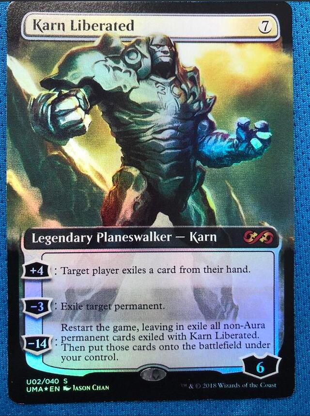 Karn Liberated PUMA Foil Magician ProxyKing 8.0 VIP The Proxy Cards To Gathering Every Single Mg Card.