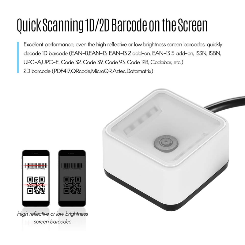 Ep7000 mini 1d2dqr scanner de código de