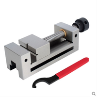 Manual Right Angle Vise QGG125 Vise Clamp High Precision Flat Pliers Small Grinding Machine CNC Drilling and Milling machine