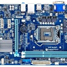 Por Gigabyte GA-B75M-D2V Original placa madre LGA 1155 DDR3 16G B75M D2V PCI-E 3,0 DVI Micro escritorio ATX placa base