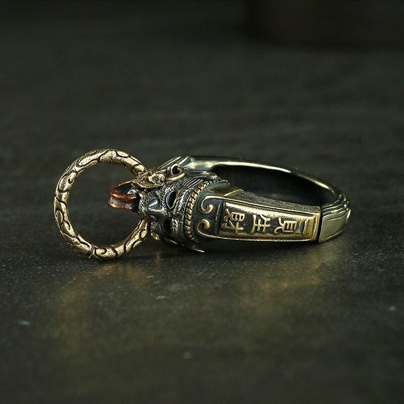 brass ghost keychain (5)
