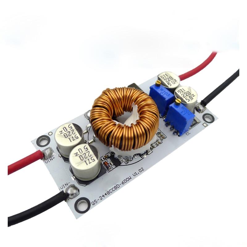 DC dc-Boost-Konverter CC CV Step Up Adapter 10A 12V zu 12-50V 600W DC einstellbare Booster Fahrzeug Netzteil Led-treiber Ladegerät