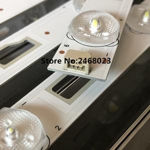 Image 3 - (New kit)2pieces/set LED Backlight strip For D32TS7202 bar light 32HR331M09A5 V1 Led strip 1pcs=580MM 9Led lamps