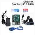 Octoprint Raspberry Pi 3 B Entwicklung Board Kit RAM 1G Mit Kamera Netzteil Für Ender 3 3D Drucker octoprint überwachung.