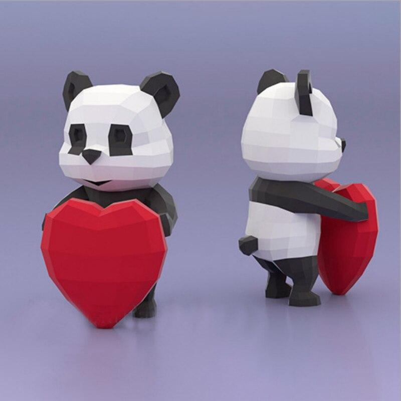 Red Panda (Paper Panda, Origami Panda, 3D animal, Papercraft ... | 800x800