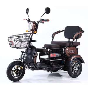 Electric-Scooter Three-Wheel Old-Elderly Lithium-Battery 20ah 800W 60V for Disabled 3-Seats