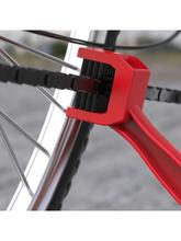 Мотоцикл горный велосипед скутер с нарезкой на обоих концах цепь щеточка для чистки цикла кисть для цепи мотоцикл цепи инструмент для чистк...