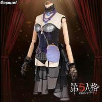 Disfraz de Anime Identity V para mujer, traje de piel de oro, Margaretha Zelle, Kroto, disfraz de Halloween, novedad de 2020