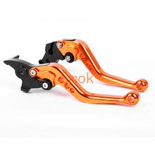 Motorcycle parts brake lever aluminum alloy for Kawasaki NINJA 300R/Z300 (w and w/o ABS) 2013-2018 Z250 2013-2014 VERSYS 300X