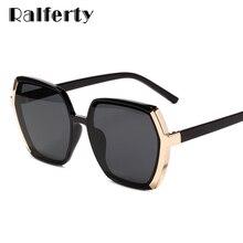 Ralferty – lunettes de soleil pour femmes, polygone UV400, surdimensionnées, pour Dames, 2020, W9154