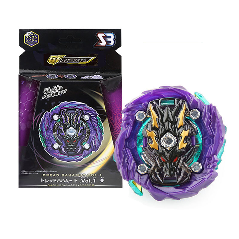 SB GT Series <font><b>Beyblades</b></font> <font><b>Burst</b></font> Metal Fusion Gyros with two-way Launcher and handlebar Toys for Children image