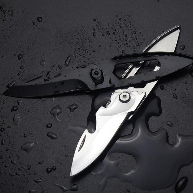 EDC Multipurpose Knife Mini Keychain Multifunctional Multi Tool Key Pocket Letter Camp Outdoor Pare Peeler Peel Parcel Open
