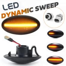 LED dynamiczne światło obrysowe boczne migacz sygnału dla Suzuki Swift MZ EZ FZ Vitara Jimny Splas Grand APV Arena Alto SX4 s cross XL7