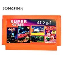Best Gift Hot Games Cartridge 60 Pin Winkelwagen Game Card Voor 8 Bit Game Player 402 in 1