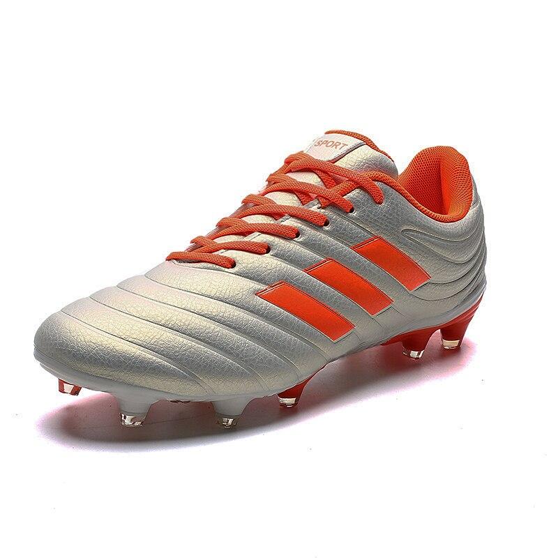 2019 Limited New Mens Boy Kids Soccer Cleats Turf Football Shoes Chuteira Futebol Zapatos De Futbol Long Spikes Eur Size 36-45