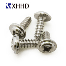M3 M4 Pan Washer Head Self Tapping Screw Phillips Cross Recessed Wafe Head Bolt Iron Steel Nickel Plated m3 304 stainless steel phillips pan washer head self tapping screw